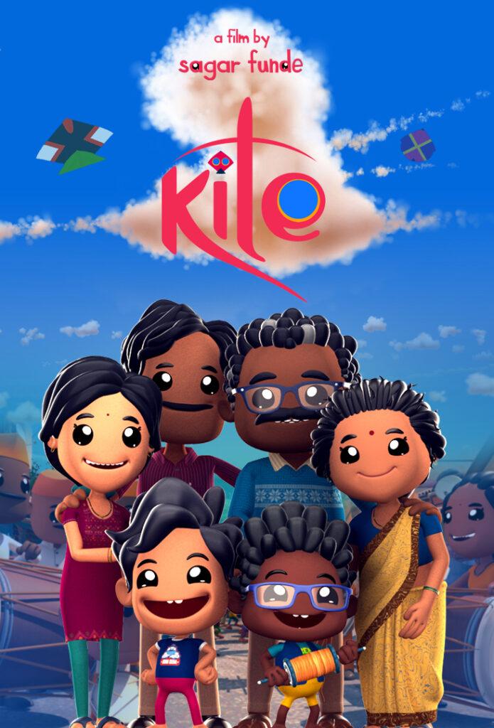 """Filmplakaten til kortfilmen """"Kite"""""""