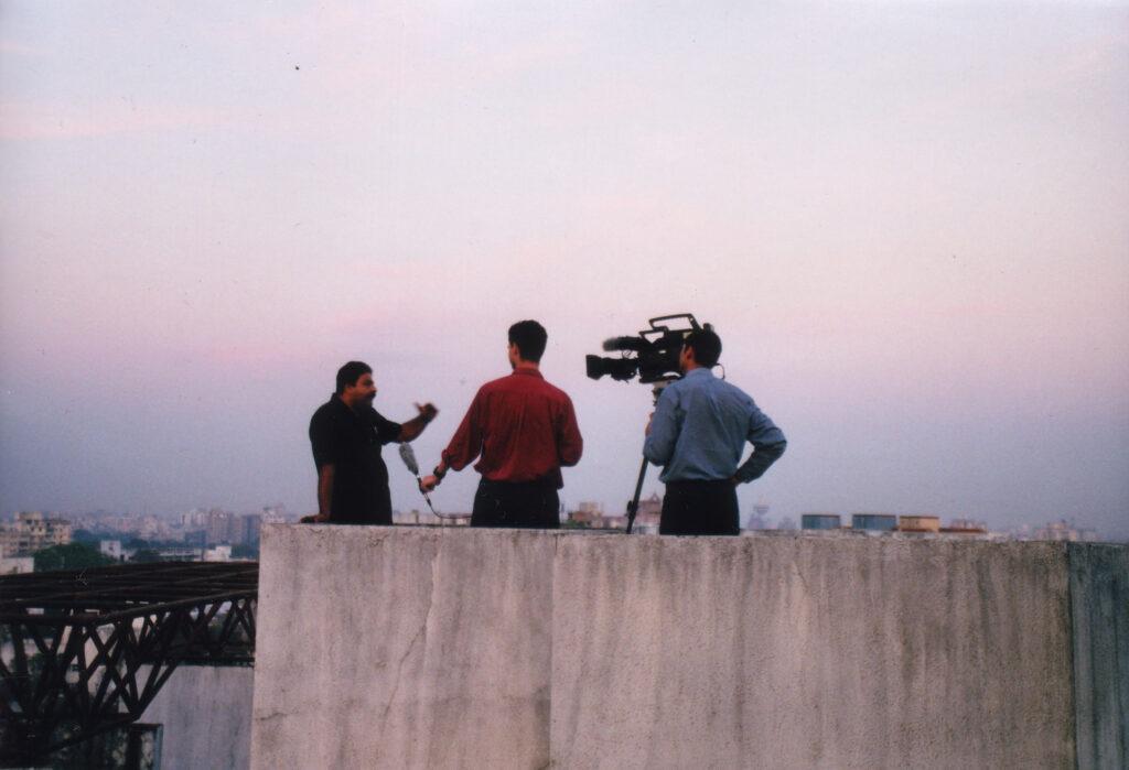 Bilde av filminnspilling